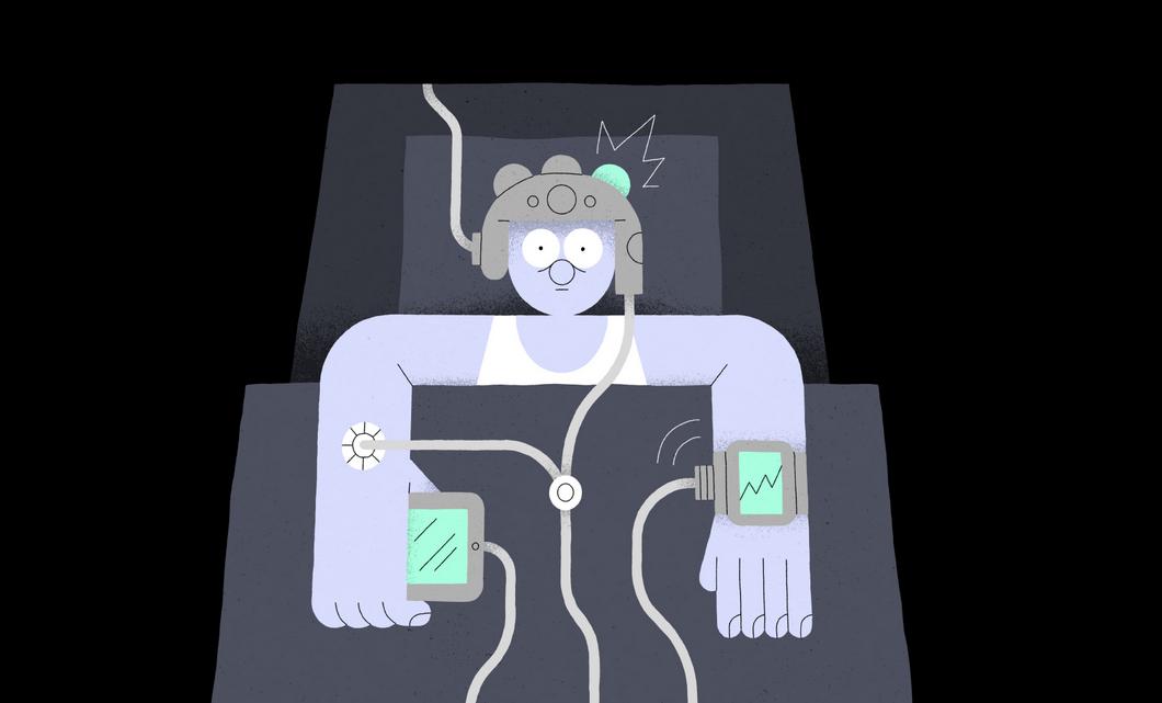 Een risico van slaap trackers