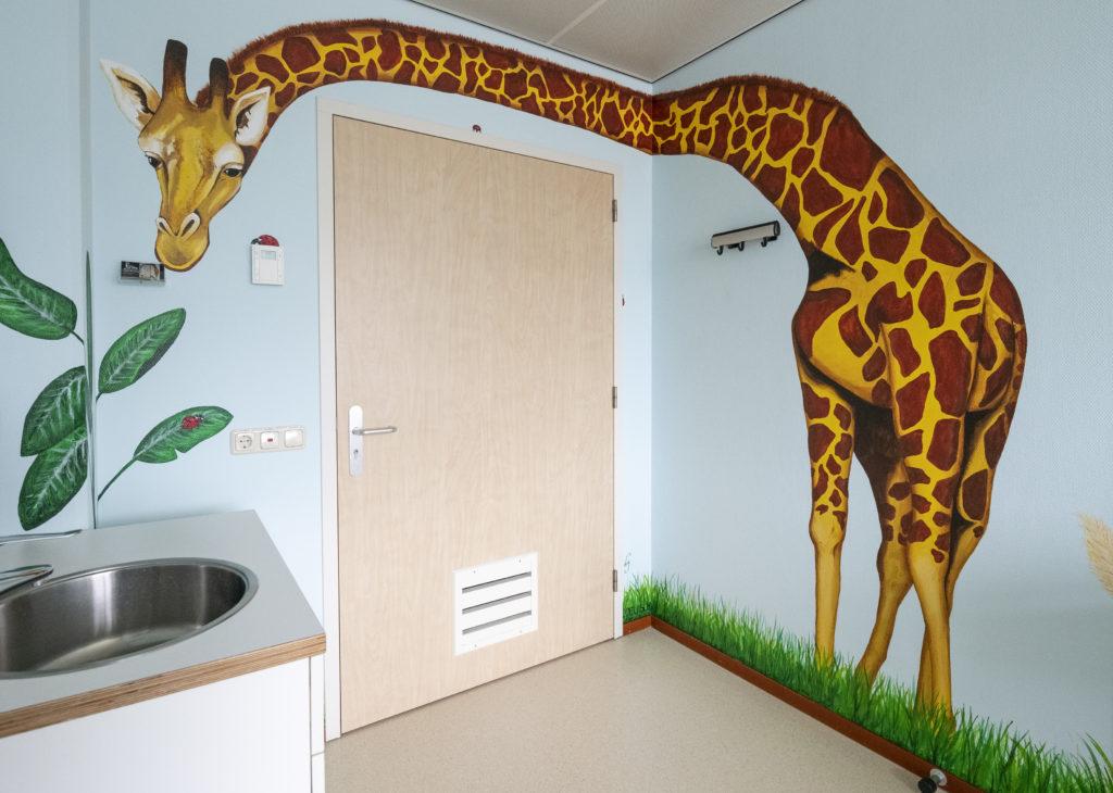 Giraf KNF hoofdgebouw